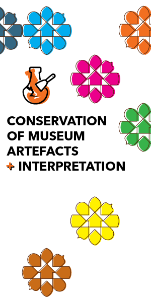 Camp theme object conservation logo