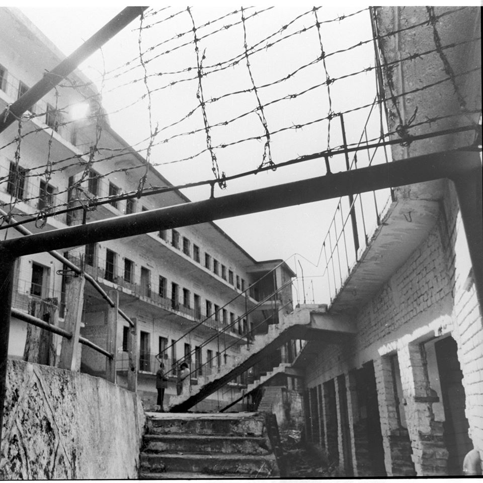 0.1.Undated picture of the cell blocks and the roll call area-source Gazeta Tema Online, May 2020
