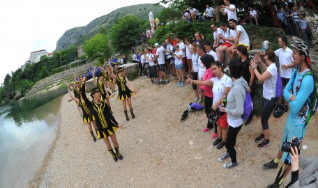 Final ceremony in Mostar